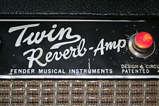 Twin Reverb Blackface Mod Kit for Vintage Fender Silverface Amps