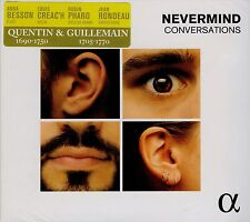 GILLEMAIN - QUENTIN / NEVERMIND conversations / DIGIPACK 2015