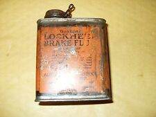 Vintage Lockheed Brake Fluid Can - Automotive Products Company Ltd - As Photo