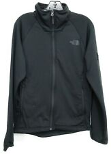 New The North Face Mens Needit Fleece Black Active Hiking Track Jacket S