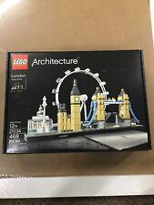 Sealed Lego Architecture London Gb Set #21034