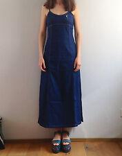 vestito REPLAY denim VINTAGE dress JEANS spalline DRESS anni 90 S