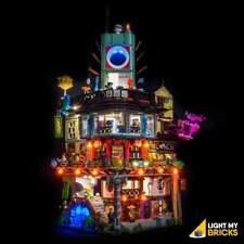 LIGHT MY BRICKS - LED Light Kit for LEGO Ninjago City 70620 set - NEW