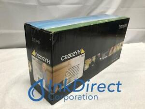Genuine Lexmark C9202YH Toner Cartridge Yellow C920 C920DN C920DTN C920N