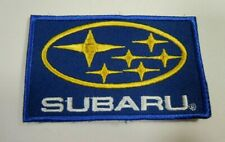 """SUBARU Cars Sew-On Automotive Car Patch 3.375"""" x 2"""" WRX  Outback Forester"""