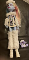 Monster High Doll Abbey Bominable Wave 2 - Mattel