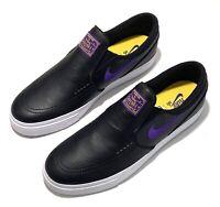 Sz 8 Stefan Janoski Lakers Slip On Nike SB Mens NBA BQ6396 024 Black Purple NEW