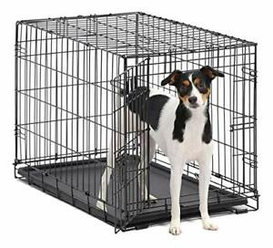 Dog Crate | MidWest ICrate 30 Inch Folding Metal Dog Crate w/ Divider Panel M...