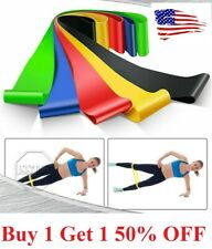 Sports Resistance Bands Workout Fitness Yoga Booty Leg Exercise Band Loop