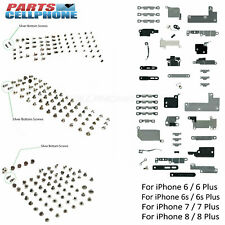 Metal Shields Brackets Holding Plate Covers & Screws for iPhone 6 6S 7 8 Plus