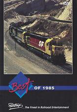 Best of 1985 DVD Amtrak BN BC McCloud SF SPSF SP UP Railroad Pentrex NEW!
