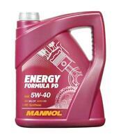 Mannol Formula PD 5L Synthetic 5W40 Longlife Engine Oil dexos 2 505.01