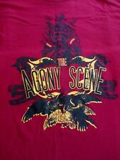The Agony Scene - Red T-Shirt Size XL - Metalcore