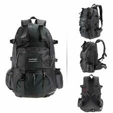 50L Outdoor Sport Backpack Hiking Trekking Bag Camping Travel Pack Knapsack N6J9