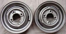 "Cerchi 3.50Bx10"" in lamiera per Innocenti Mini Morris Leyland Austin"