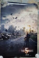 "The 5th Wave - UNUSED Original Movie Theater Double Sided Poster - 27"" x 40"""