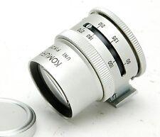 "Komura Uni Finder F/Lenses 90-270mm & 4x5"" Cameras: Schneider, Rodenstock, Nikon"