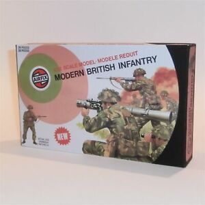 Airfix Empty Repro Box Modern British Infantry Target Logo 1:32 Scale #51472