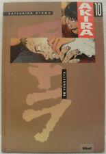 """Cartonato """"Akira 10 vendetta"""" 1991 - Glénat OTTIMO"""