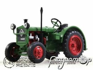 Tractor IFA RS 01/40 Pionier 1950 Hachette. Diecast Metal model Scale 1:43. A