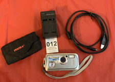 Pentax Pentax Optio Wp 5.0Mp Digital Camera Silver Case Charger Cable Included