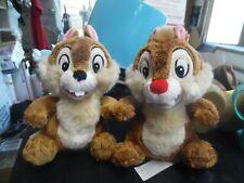 "Disney Store 7"" Chip & Dale Stuffed plush animals"