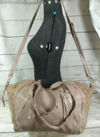 New Look Large Slouch Genuine Leather Cross Body Shoulder Tote Bag