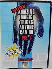 More Amazing Magic Tricks Anyone Can Do ~ Jay Sankey, Volume 2 (DVD, 2006)