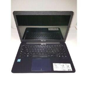 "asus netbook pc portable e402 occasion 32gb ssd + 128gb ssd 4gb ram, 14"" celeron"