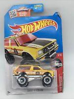 2015 Hot Wheels Chevy Blazer 4X4 HW Rescue 3/10 Yellow Fire 1/64 DIECAST CAR