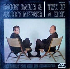 "BOBBY DARIN & JOHNNY MERCER - 2 OF A KIND - ATCO LP + ""MY CUTEY'S.. SHEET MUSIC"
