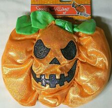 "Spooky Village Halloween Pet Dog Costume 13"" Medium Pumpkin New"