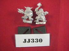 Oop warhammer dwarf fighter et grincheux 1987 métal ref JJ330