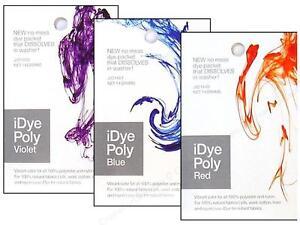 IDYE Jacquard Poly - 16 Farben Verfügbar Für Polyester & Nylon Stoffe