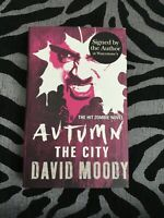 David Moody AUTUMN Signed First Edition Hardcover