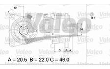 VALEO Alternador para CITROEN XSARA BERLINGO PEUGEOT 206 PARTNER FIAT 437356