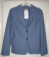 Finn Karelia - Blue/Lavender 20% Wool Suit Jacket New With Tags UK10 (34)