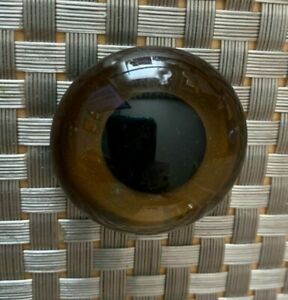 Estate Vintage Glass Button Eye Glass Eye Teddy Bear Stuffed Animal Large
