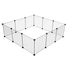 New listing 12 X Metal Panels Small Dog Cat Pets Playpen Wire Yard Crate Fence