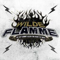 WILDE FLAMME - DIE ZEIT KOMMT ALLEIN UND NICHT ZU ZWEIT   CD SINGLE NEU