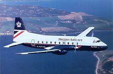 British Airways Hawker Siddeley HS-748 Srs2B/287  G-BCOF Aviation Postcard