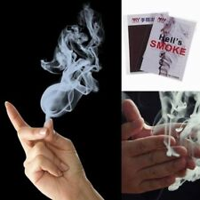 10pcs Close-Up Magic Change Gimmick Finger Smoke Hell's Smoke Fantasy Trick Prop