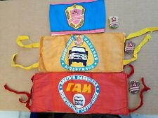More details for job lot of 3 soviet era period armbands with badges.