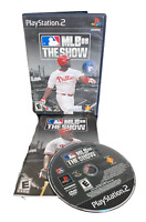 MLB 08 The Show W Manual PS2 PlayStation 2 Game