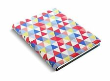 Filofax A5115047Notepad Patterns Geometric 4 Part Index with Pocket, Triangle