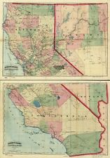 Buy California Contemporary Antique North America Wall Maps Ebay