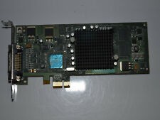 ✔️⚙️WORKING MATROX MILLENIUM G550 32MB PCI-EX X1 GRAPHIC CARD LOW PROFILE DMS-60