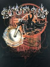 Sturgis Biker Rally 2013 Black Hills T Shirt XL Ride With The Best Bury The Rest
