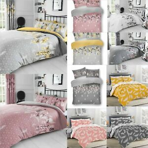 NEW Bedding Set Duvet Cover Pillow Cases Quilt Cover Set Single Double King S/K