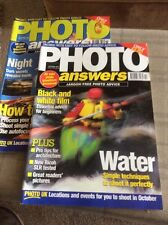TWO 'PHOTO ANSWERS' MAGAZINES FROM OCTOBER AND NOVEMBER 1997